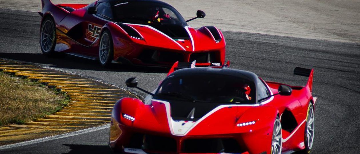 Ferrari FXX-K Hits 200+ MPH at Daytona!