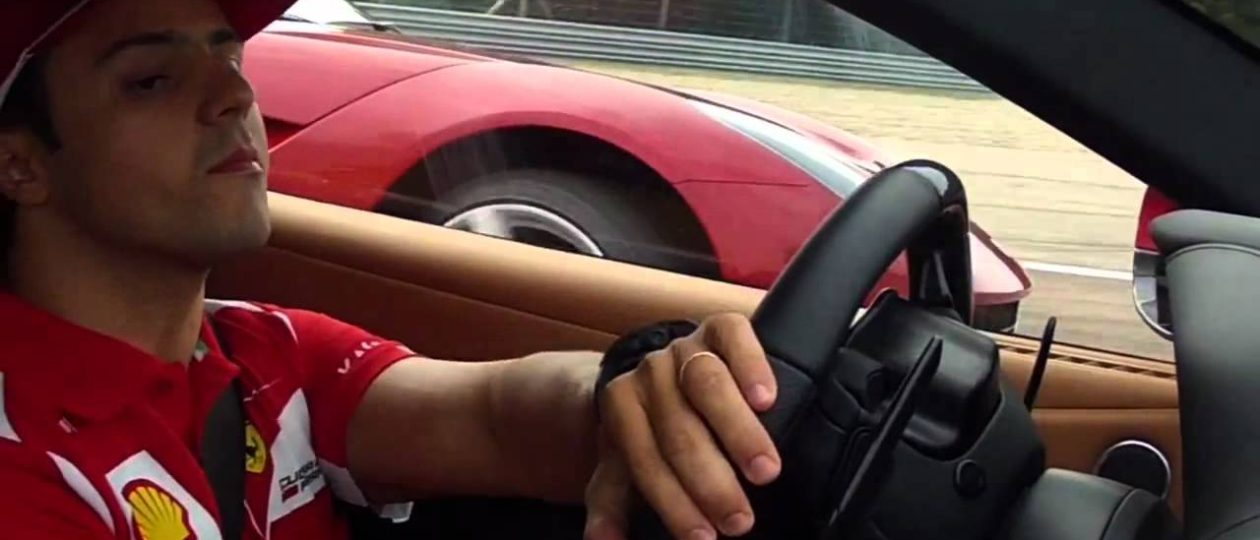 Video: Felipe Flogs an F12 at Fiorano!