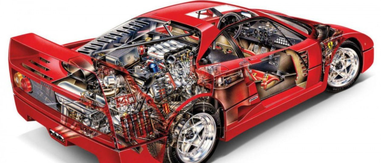 F40: The Definitive Analog Supercar